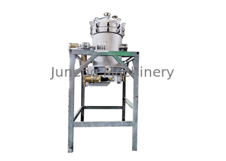 Compact Structure Rotary Pressure Filter , Small Pressure Leaf Filter